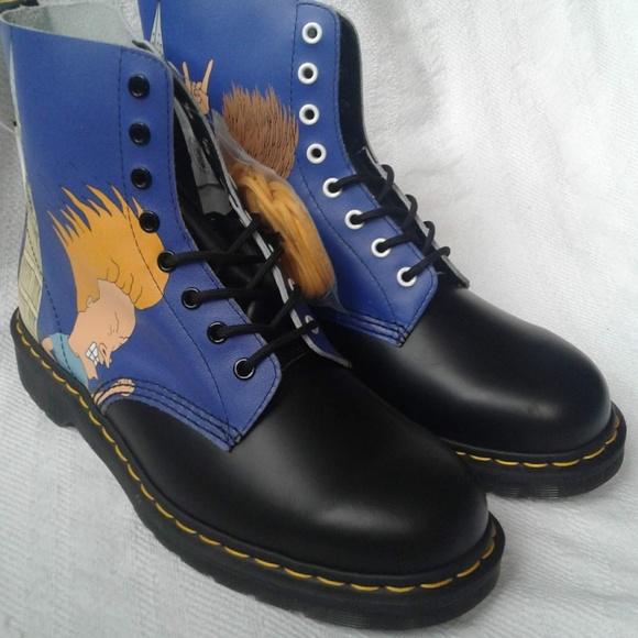 2ba50b22d3 Dr. Martens Shoes   Dr Martens Beavis Butthead 11 Black Blue Pascal ...